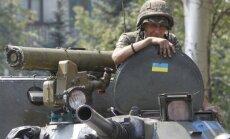 Ukrainas armija atsit tanku uzbrukumu Ilovajskai