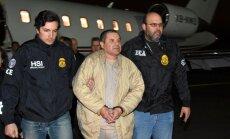 'El Chapo' lietā par izaicinājumu kļuvusi dzīvu liecinieku nogādāšana līdz tiesai
