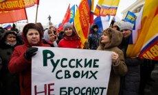 Krimas pievienošana Krievijai varētu notikt divu nedēļu laikā, apgalvo deputāts