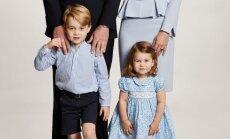 Britu karaļnams publisko mīlīgu Viljama ģimenes foto