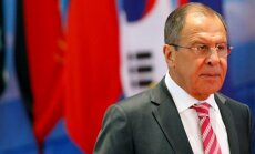 Lavrovs: Krievija ratificēs robežlīgumu ar Igauniju tikai tad, ja būs izslēgta konfrontācija