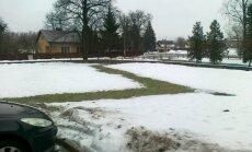 Latvijā saglabājas līdz +6 grādiem silts laiks; braukšanas apstākļi apmierinoši