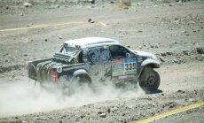 Baltijas vārds Dakaras rallijā: lietuvietis Vanags izcīna ceturto vietu 11. ātrumposmā
