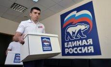 Austrijas galēji labējā partija paraksta sadarbības vienošanos ar 'Vienoto Krieviju'