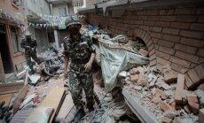 Bojāgājušo skaits zemestrīcē Nepālā pārsniedz 6200