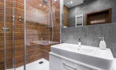 Mājīgi un estētiski – idejas koka imitācijai vannasistabā