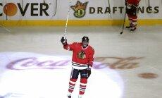 Marians Hosa gūst 500. vārtus NHL karjerā