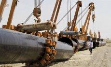 Maskavas draugu klubs: Krievija un Pakistāna vienojas par gāzesvada būvniecību