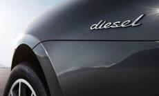'Porsche' vairs neražos automašīnas ar dīzeļdzinējiem