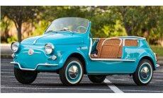 Foto: Unikāls 'Ghia' pārbūvētais 1957. gada 'Fiat 500 Jolly'
