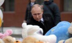 Ugunsgrēks Kemerovā ir noziedzīga nolaidība, paziņo Putins