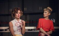 Foto: Dailes teātrī iestudēta kaislību drāma 'Pēc Jūlijas jaunkundzes'