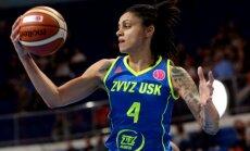 Šteinberga un ZVVZ USK komanda otrreiz paliek ceturtā FIBA Eirolīgā