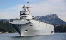 Par kuģa nodošanas datuma izpaušanu Krievijai atlaiž 'Mistral' projekta vadītāju