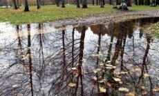 Территорию Латвию продолжает пересекать холодный атмосферный фронт