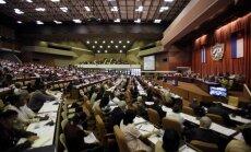 Kubas parlaments vienbalsīgi atbalsta attiecību normalizēšanu ar ASV