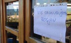 Polijā restorāns atsakās apkalpot krievus