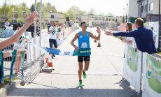 Salaspils pusmaratonā uzvar olimpiete Ilona Marhele un Dmitrijs Serjogins