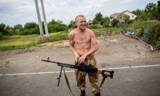 Krievijas mediji: Doņeckā nogalināts separātists Motorola