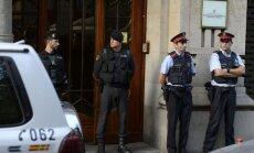 Katalonijas neatkarības referendums: Spānijas policija veic kratīšanu reģiona ministrijās