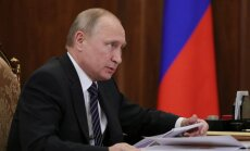 Krievija nevēlas šķelt Eiropas Savienību, pauž Putins