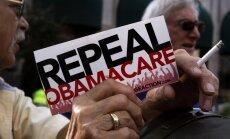 ASV Pārstāvju palāta pieņem likumprojektu par 'Obamacare' nomaiņu