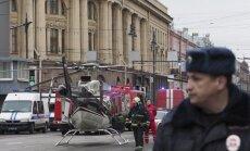 Visi saistībā ar Sanktpēterburgas metro spridzināšanu aizturētie ir ieceļotāji no Vidusāzijas