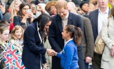 Foto: Prinča Harija līgava pārspēj pati sevi