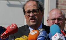 Zvērestu nodevusi jaunā Katalonijas valdība