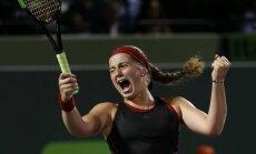 Пятая ракетка мира Алена Остапенко — в финале престижного турнира в Майами