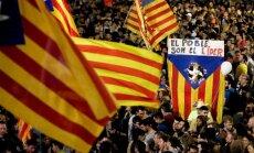 Опрос: треть латвийцев поддерживают стремление Каталонии отделиться от Испании