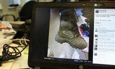 На базаре в Литве можно купить ботинки латвийских военных; начато расследование