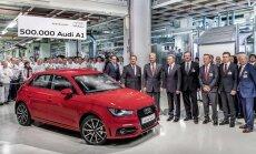 'Audi A1' izgatavots jau pusmiljonā vienību