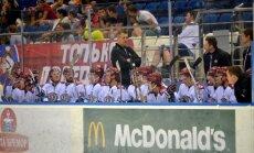 Rīgas 'Dinamo' ar 'sauso' zaudējumu un bez uzvarām noslēdz turnīru Minskā