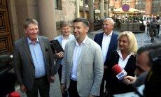 Visi 'Saskaņas' Saeimas frakcijas deputāti grib atkal nokļūt parlamentā