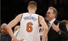 'Knicks' prezidents uzstāj uz Rembisa palikšanu galvenā trenera amatā