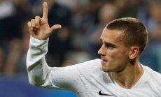Grīzmanam vienalga, kādā veidā Francijas futbolisti triumfēs Pasaules kausa finālturnīrā