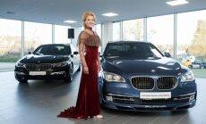 Foto: Ar vērienu Rīgā atklāts Baltijā lielākais BMW autocentrs