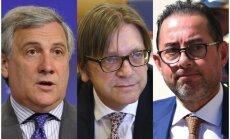 Četri itāļi un negaidīta draudzība ar populistiem – EP meklē Šulca pēcteci