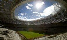 FIFA apmierināta ar Krievijas galvenā PK stadiona būvniecību