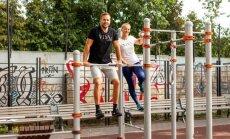 ВИДЕО. Комплекс упражнений для тренировки на спортивной площадке