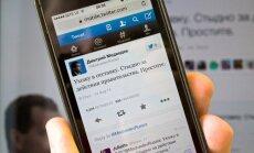 Uzlauzts Krievijas premjera 'Twitter' konts