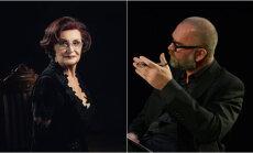 Dailes teātra 'Spēlmaņu sarunās' tiksies Olga Dreģe un Ivars Kleins