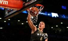 NBA apskatnieks: Porziņģim pietrūka viena balss, lai kļūtu par Uzlecošo zvaigžņu mača MVP