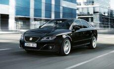 Modernizētais 'SEAT Exeo' vēl vairāk līdzinās 'Audi'