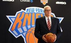 Porziņģa pārstāvētā 'Knicks' NBA drafta loterijā iegūst astoto numuru