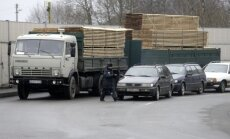 Lietuva iesniedz notu Krievijai par nodevu kravas automašīnu kustībai pa ceļiem