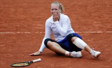 Pasaules ranga 58. vietas īpašniece Bertensa sasniedz 'French Open' pusfinālu