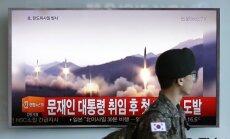 Ракета КНДР упала в 100 километрах от Приморья