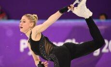 Daiļslidotāja Ņikitina nekvalificējas Phjončhanas olimpisko spēļu izvēles programmai